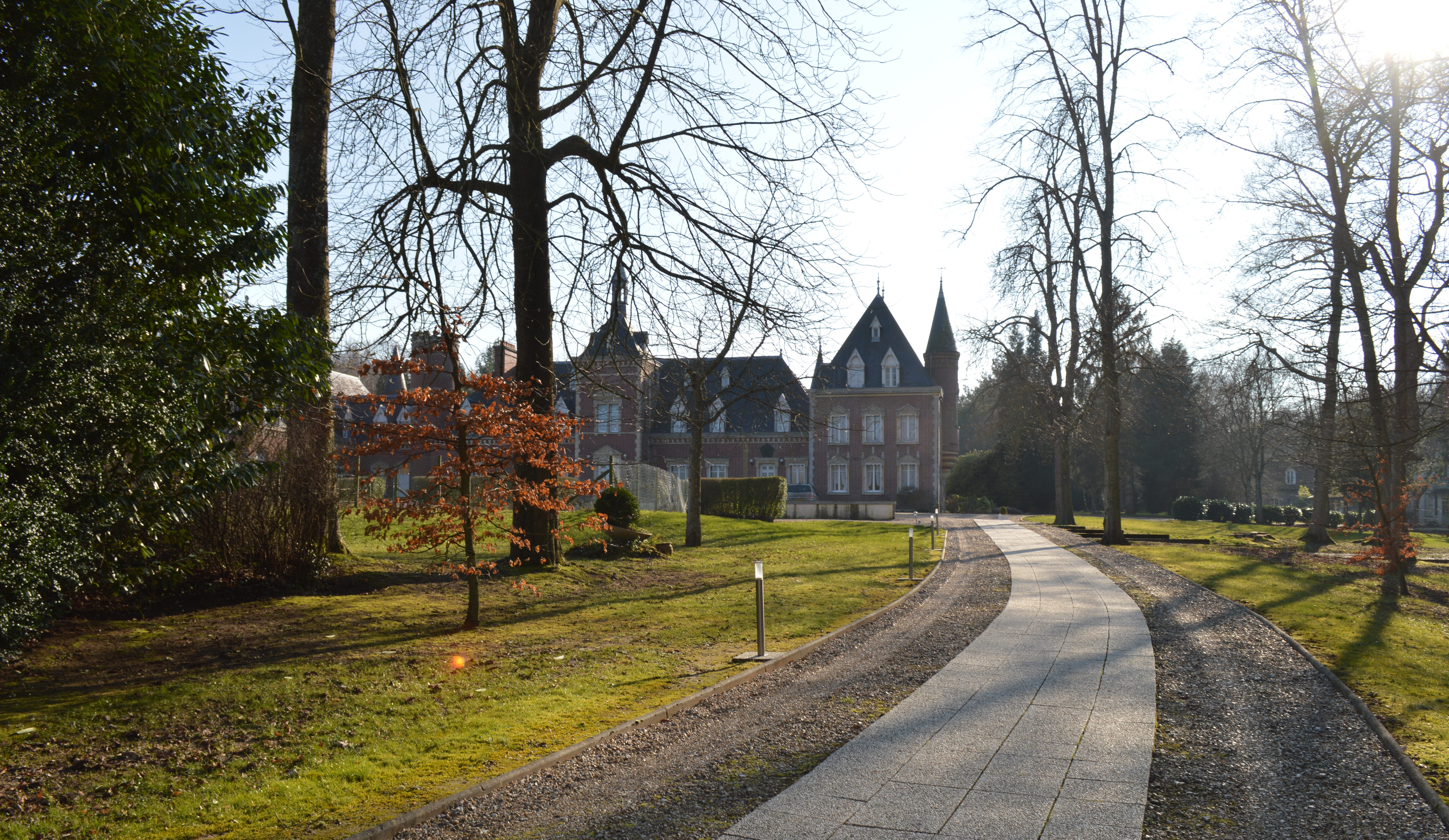 photo paysage et batiment au chateau Vaillant internat college lycee esport
