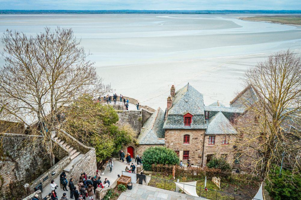 plage de normandie en france au chateau Vaillant internat college lycee esport