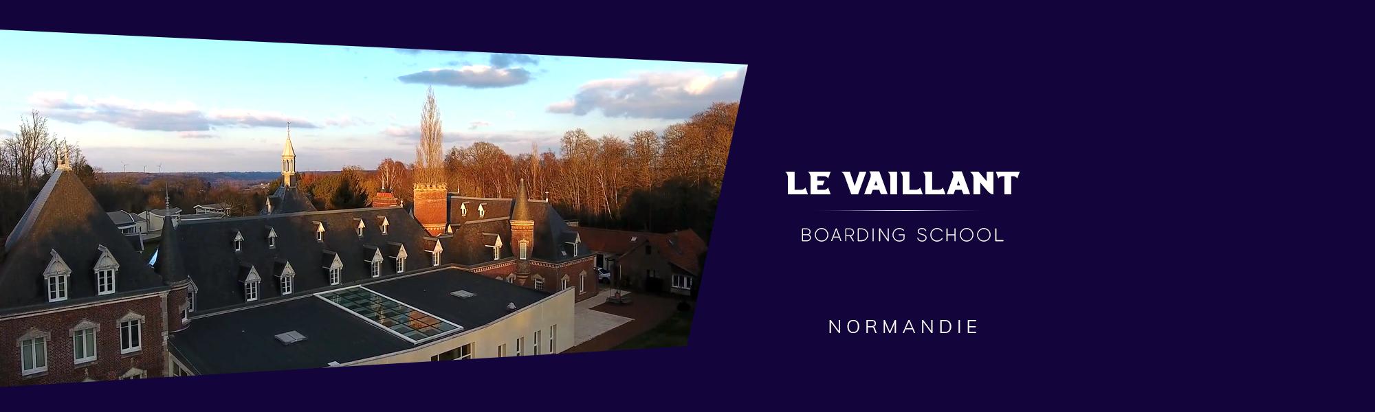 vue sur l'ecole du chateau Vaillant internat college lycee esport