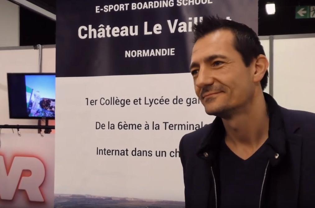 Interview d'aldrick allal a propos du chateau le vaillant internat college lycee esport