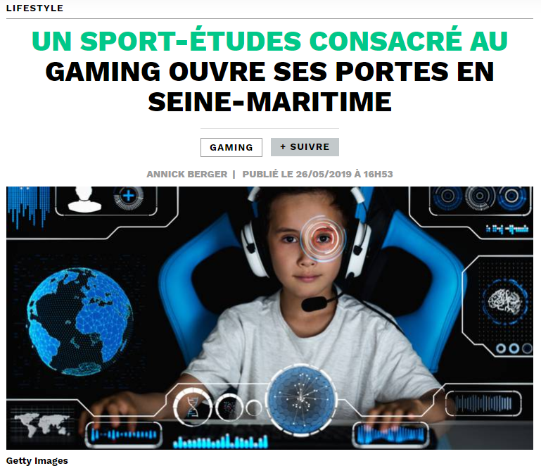 Chateau Le Vaillant Internat College Lycee specialise esport sport etudes article capital presse